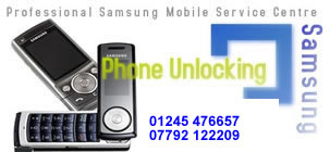 Chelmsford Samsung Mobile Phone Unlocking and Repairs