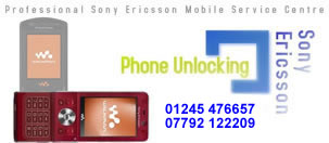 Chelmsford Sony Ericsson Mobile Phone Unlocking and Repairs